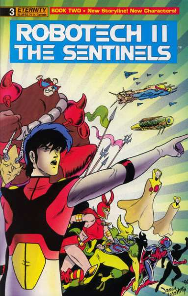 Robotech II: The Sentinels Book 2 #3 comic books - cover scans photos Robotech II: The Sentinels Book 2 #3 comic books - covers, picture gallery