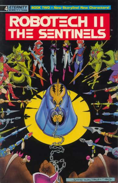 Robotech II: The Sentinels Book 2 #4 comic books - cover scans photos Robotech II: The Sentinels Book 2 #4 comic books - covers, picture gallery