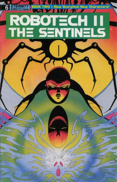 Robotech II: The Sentinels Book 2 #6 comic books for sale