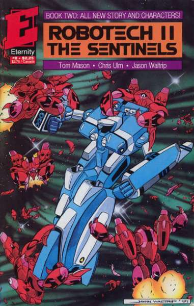 Robotech II: The Sentinels Book 2 #8 comic books - cover scans photos Robotech II: The Sentinels Book 2 #8 comic books - covers, picture gallery