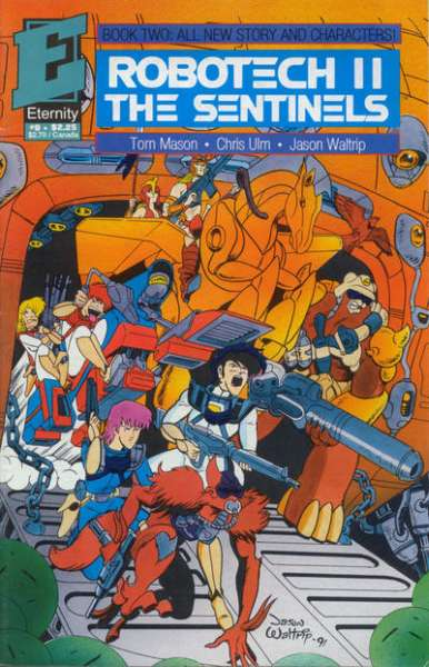 Robotech II: The Sentinels Book 2 #9 comic books - cover scans photos Robotech II: The Sentinels Book 2 #9 comic books - covers, picture gallery