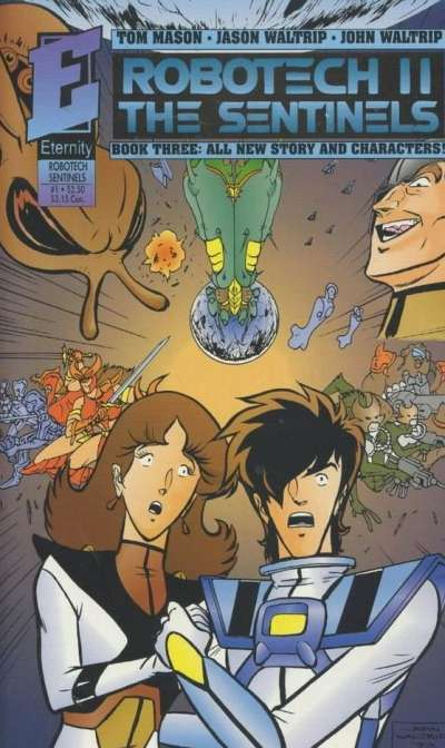 Robotech II: The Sentinels Book 3 Comic Books. Robotech II: The Sentinels Book 3 Comics.