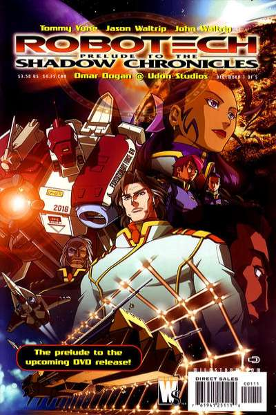 Robotech: Prelude to the Shadow Chronicles comic books
