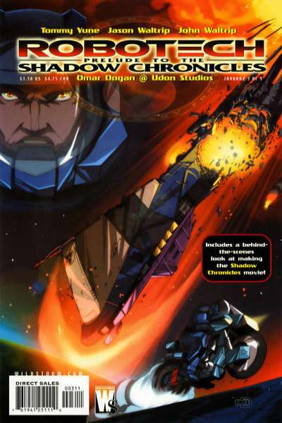 Robotech: Prelude to the Shadow Chronicles #3 comic books for sale