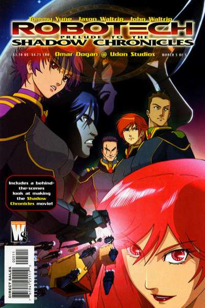 Robotech: Prelude to the Shadow Chronicles #5 comic books for sale