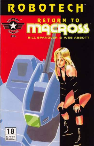 Robotech: Return to Macross #18 Comic Books - Covers, Scans, Photos  in Robotech: Return to Macross Comic Books - Covers, Scans, Gallery