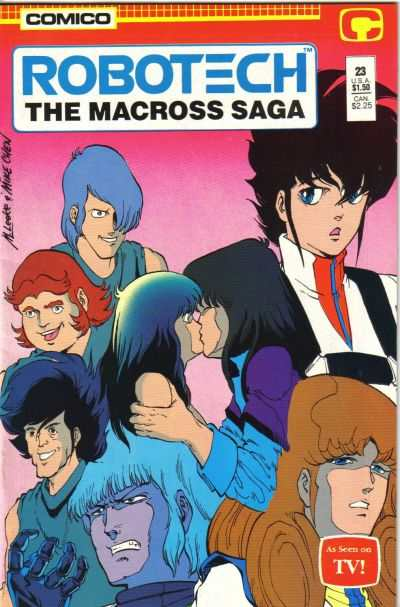 Robotech: The Macross Saga #23 comic books for sale