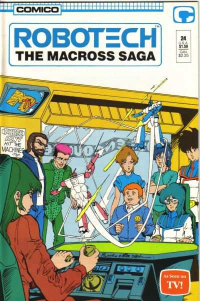 Robotech: The Macross Saga #24 Comic Books - Covers, Scans, Photos  in Robotech: The Macross Saga Comic Books - Covers, Scans, Gallery
