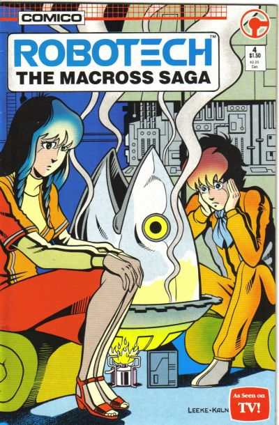 Robotech: The Macross Saga #4 comic books - cover scans photos Robotech: The Macross Saga #4 comic books - covers, picture gallery