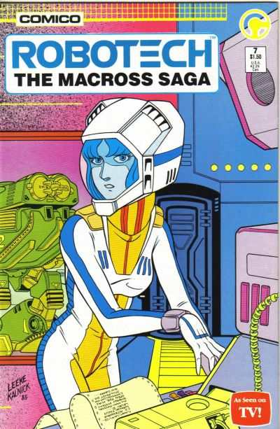 Robotech: The Macross Saga #7 comic books - cover scans photos Robotech: The Macross Saga #7 comic books - covers, picture gallery