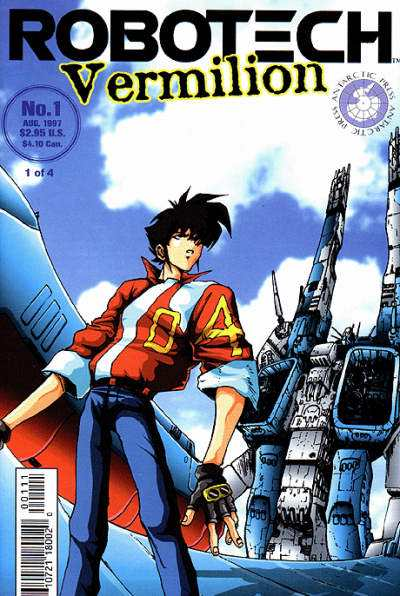 Robotech: Vermilion #1 comic books - cover scans photos Robotech: Vermilion #1 comic books - covers, picture gallery