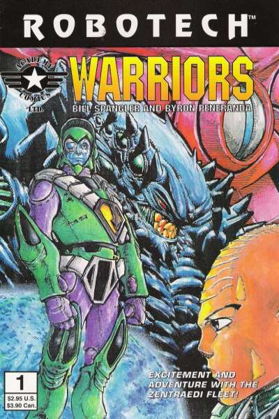 Robotech Warriors #1 Comic Books - Covers, Scans, Photos  in Robotech Warriors Comic Books - Covers, Scans, Gallery