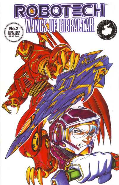 Robotech: Wings of Gibraltar #2 comic books - cover scans photos Robotech: Wings of Gibraltar #2 comic books - covers, picture gallery