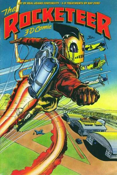 Rocketeer 3-D Comic #1 comic books - cover scans photos Rocketeer 3-D Comic #1 comic books - covers, picture gallery