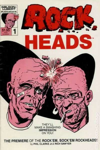 Rockheads #1 comic books - cover scans photos Rockheads #1 comic books - covers, picture gallery