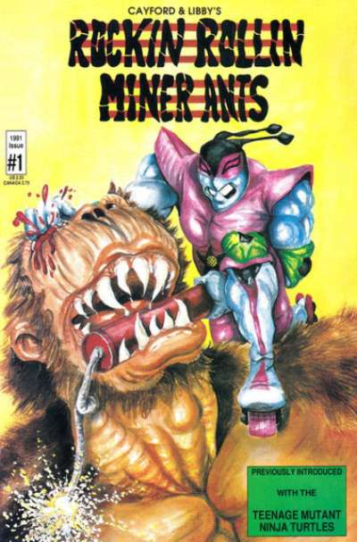 Rockin Rollin Miner Ants #1 comic books for sale
