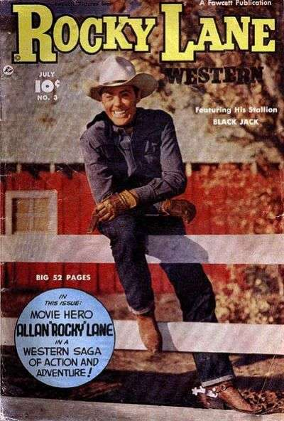 Rocky Lane Western #3 Comic Books - Covers, Scans, Photos  in Rocky Lane Western Comic Books - Covers, Scans, Gallery