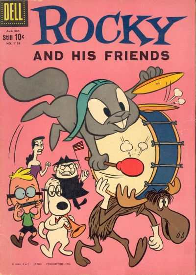 Rocky and His Friends #1 comic books - cover scans photos Rocky and His Friends #1 comic books - covers, picture gallery