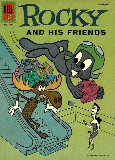 Rocky and His Friends #4 comic books - cover scans photos Rocky and His Friends #4 comic books - covers, picture gallery