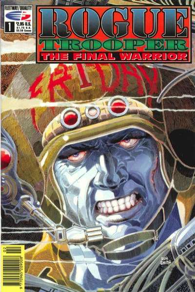 Rogue Trooper: The Final Warrior comic books