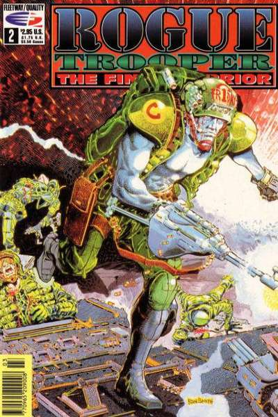 Rogue Trooper: The Final Warrior #2 Comic Books - Covers, Scans, Photos  in Rogue Trooper: The Final Warrior Comic Books - Covers, Scans, Gallery