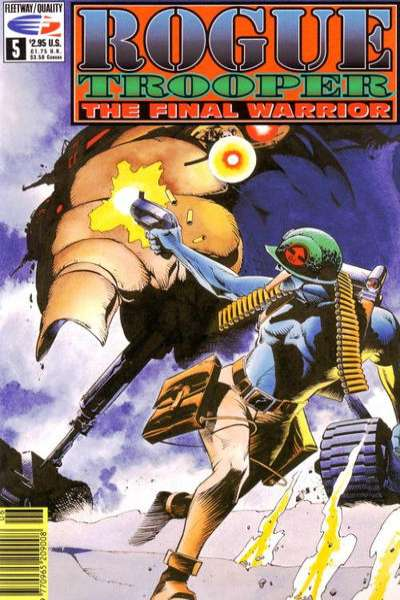 Rogue Trooper: The Final Warrior #5 comic books - cover scans photos Rogue Trooper: The Final Warrior #5 comic books - covers, picture gallery