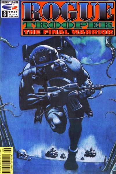 Rogue Trooper: The Final Warrior #8 comic books - cover scans photos Rogue Trooper: The Final Warrior #8 comic books - covers, picture gallery
