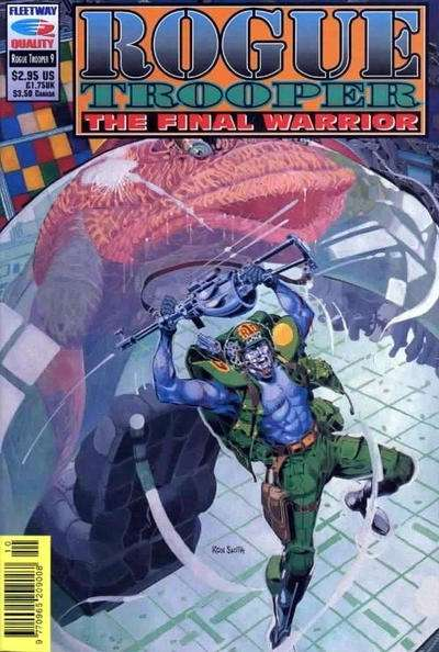 Rogue Trooper: The Final Warrior #9 comic books - cover scans photos Rogue Trooper: The Final Warrior #9 comic books - covers, picture gallery