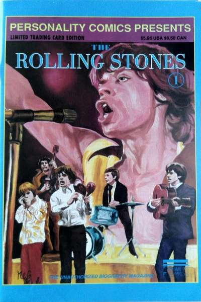Rolling Stones comic books