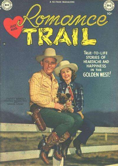 Romance Trail comic books