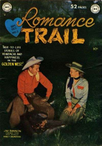 Romance Trail #2 comic books - cover scans photos Romance Trail #2 comic books - covers, picture gallery