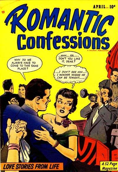 Romantic Confessions #7 comic books - cover scans photos Romantic Confessions #7 comic books - covers, picture gallery