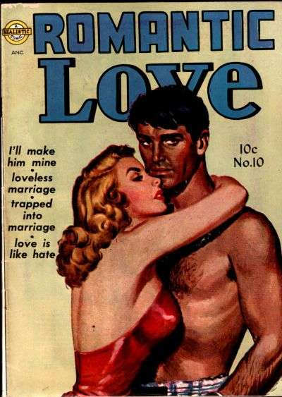Romantic Love #10 comic books for sale
