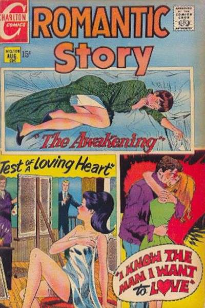 Romantic Story #108 comic books for sale