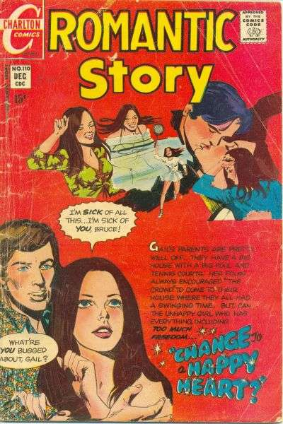 Romantic Story #110 comic books for sale