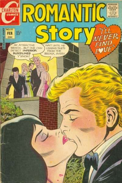 Romantic Story #111 comic books for sale