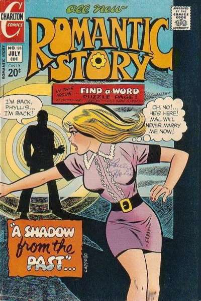Romantic Story #128 comic books for sale