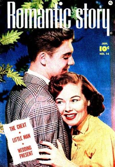 Romantic Story #14 comic books - cover scans photos Romantic Story #14 comic books - covers, picture gallery