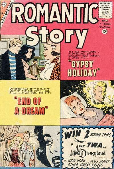 Romantic Story #48 comic books for sale