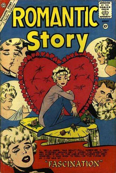 Romantic Story #50 comic books - cover scans photos Romantic Story #50 comic books - covers, picture gallery