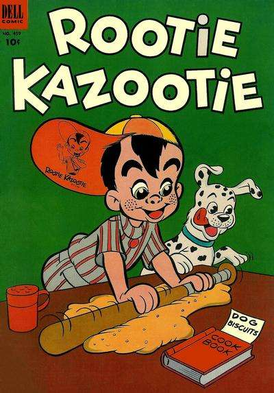 Rootie Kazootie #2 comic books - cover scans photos Rootie Kazootie #2 comic books - covers, picture gallery