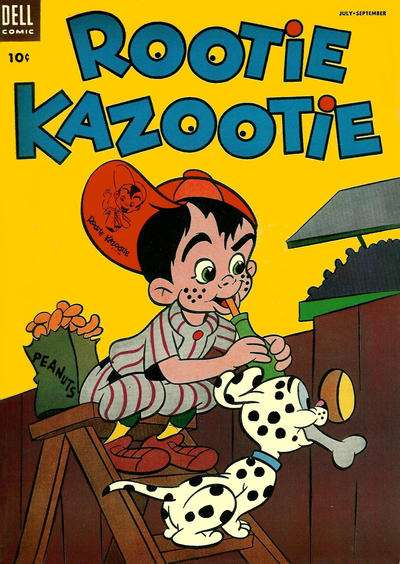 Rootie Kazootie #5 Comic Books - Covers, Scans, Photos  in Rootie Kazootie Comic Books - Covers, Scans, Gallery