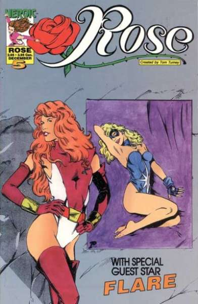Rose #5 comic books for sale