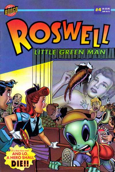 Roswell: Little Green Man #4 Comic Books - Covers, Scans, Photos  in Roswell: Little Green Man Comic Books - Covers, Scans, Gallery