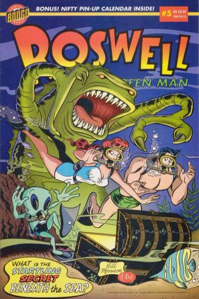 Roswell: Little Green Man #5 Comic Books - Covers, Scans, Photos  in Roswell: Little Green Man Comic Books - Covers, Scans, Gallery
