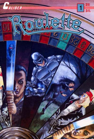 Roulette #1 comic books for sale