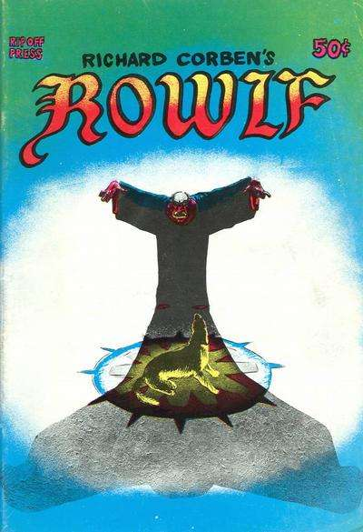 Rowlf Comic Books. Rowlf Comics.