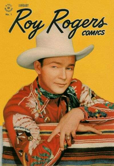 Roy Rogers Comics comic books