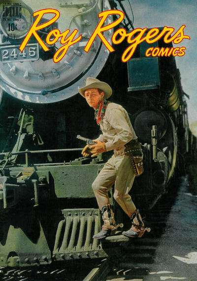 Roy Rogers Comics #11 comic books - cover scans photos Roy Rogers Comics #11 comic books - covers, picture gallery