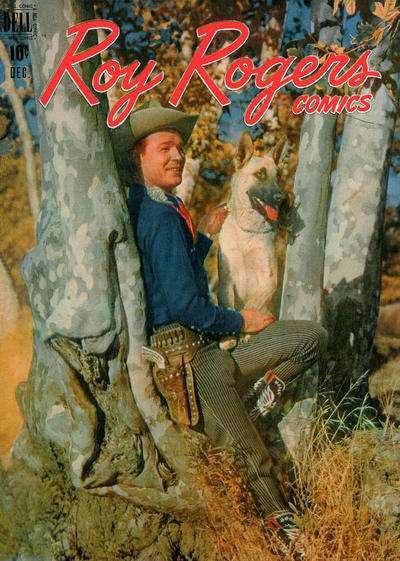 Roy Rogers Comics #12 comic books - cover scans photos Roy Rogers Comics #12 comic books - covers, picture gallery